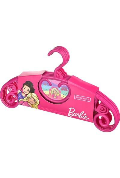 Tuffex Barbie Kız Çocuk Elbise Askısı 4 Lü