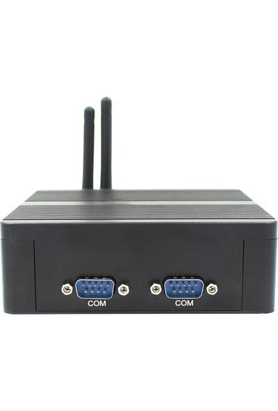 Maxwera Intel Celeron J1900 8GB 128GB SSD 2*Gigabit Ethernet WI-FI Freedos Mini PC