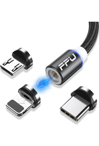 Fpu Mıknatıslı Type-C Hızlı Şarj Kablosu