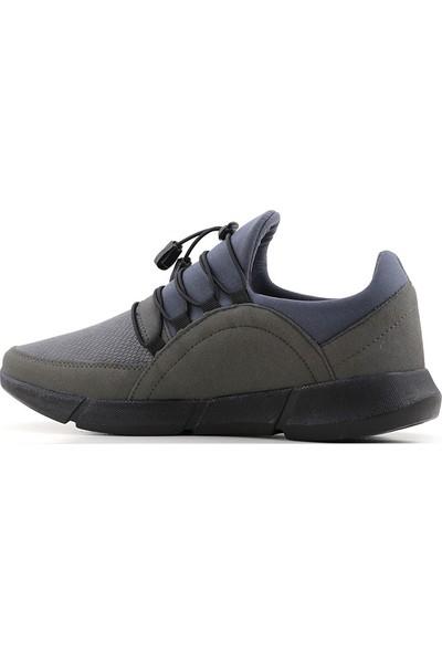 G-Class Erkek Spor Ayakkabı Gri - Ince Bağcık