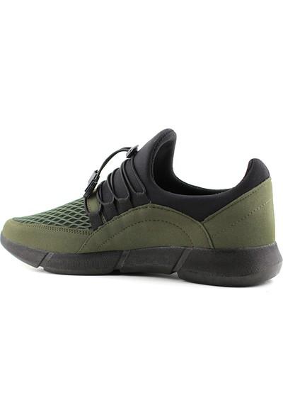 G-Class Erkek Spor Ayakkabı Haki - Ince Bağcık