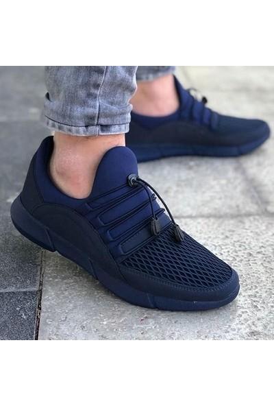 G-Class Erkek Spor Ayakkabı Lacivert - Ince Bağcık