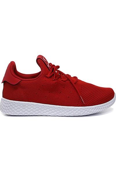 Keeway Erkek Spor Ayakkabı Kırmızı