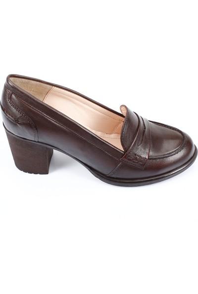 Gön Deri Kadın Ayakkabı 24072