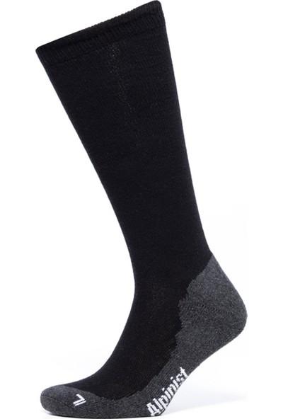 Alpinist Skı Socks Çorap Siyah