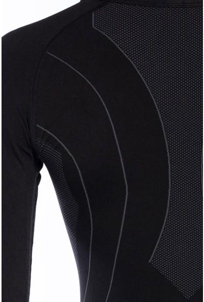 Alpinist Technical Activewear Termal Üst İçlik Siyah