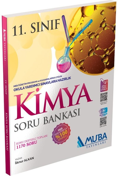 Muba Yayınları 11.Sınıf Kimya Soru Bankası