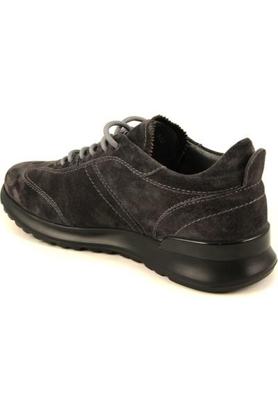 Forelli 43605 Erkek Gri Deri-Nubuk Ayakkabı