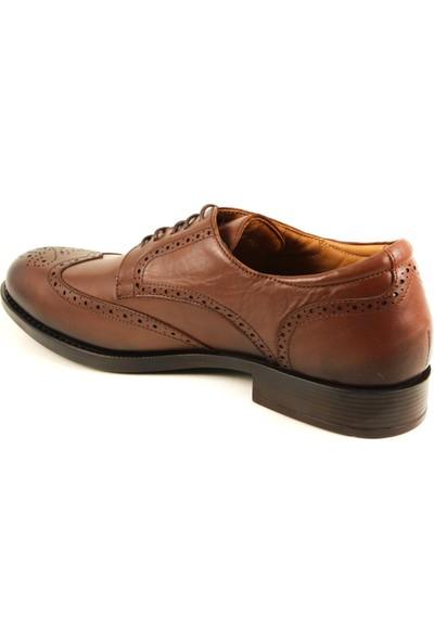 Forelli 46107 Erkek Taba Deri Klasik Ayakkabı