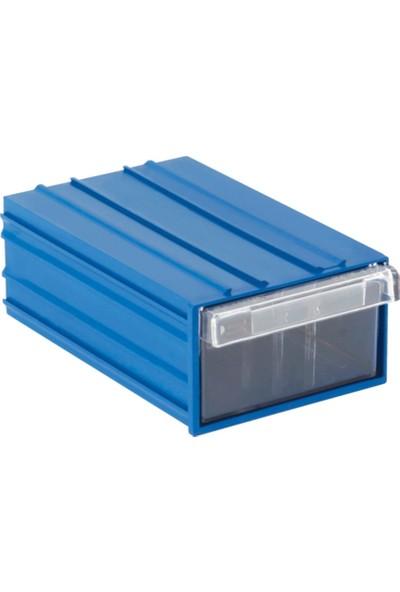 Sembol 105 Plastik Çekmeceli Kutu 25 Çekmeceli