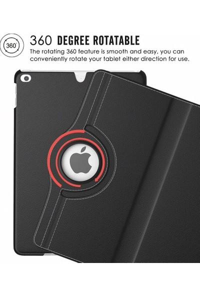 """Tbkcase Apple iPad Pro 10.2"""" Dönerli Standlı Kapaklı Kılıf Siyah"""