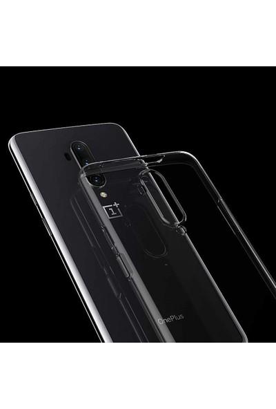 Microcase OnePlus 7T Pro Ultra İnce 0.2 mm Soft Silikon Kılıf - Şeffaf