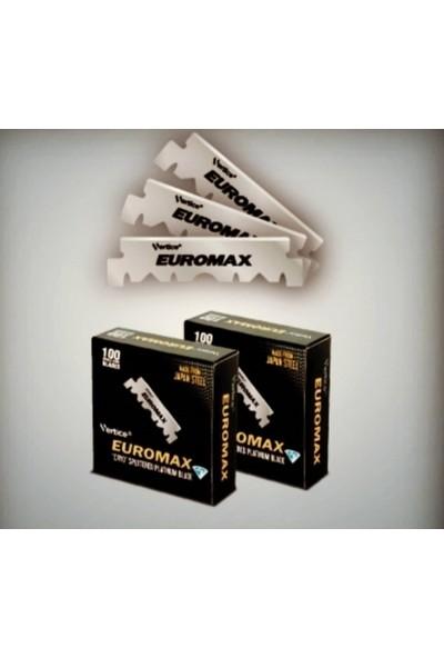 Euromax Platinum Japon Çeliği Jilet 100'lü Kutu