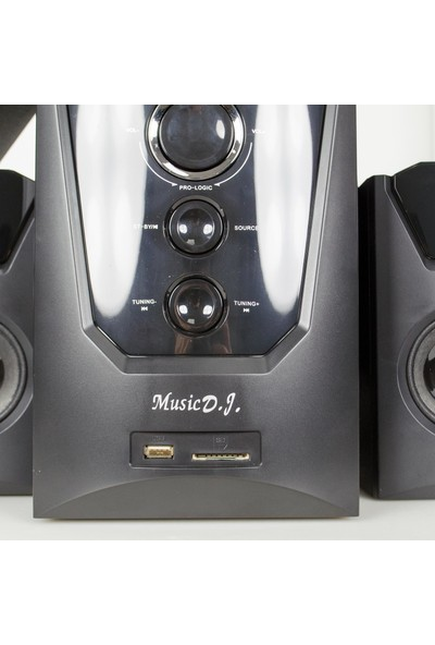 Music D.J MD-9500BT 5.1 Bluetooth Surround Hoparlör Sistemi