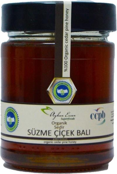 Ayhan Ercan Superfoods Organik Sedir Süzme Çiçek Balı 350 g