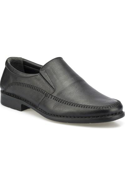 Polaris 102025.M Siyah Erkek Klasik Ayakkabı
