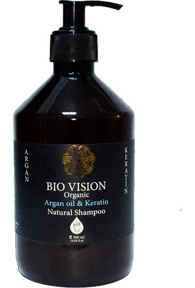 Bio Vision Organic Argan Oilkeratin Şampuan 500 ml