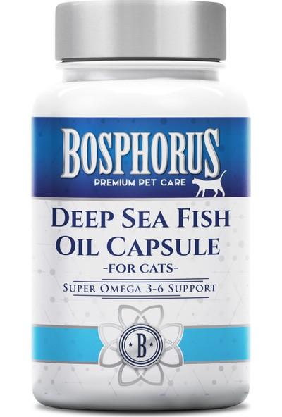 Bosphorus Kediler İçin Derin Deniz Balık Yağı 50 Tablet