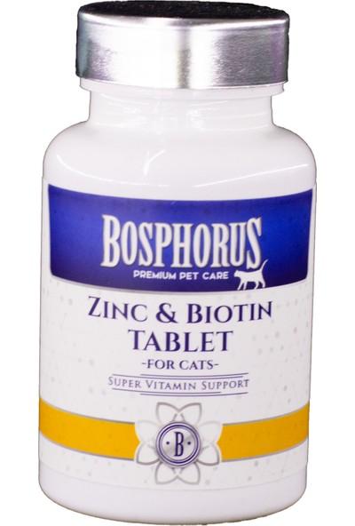 Bosphorus Kediler İçin Çinko Biotin Tablet 60 Adet
