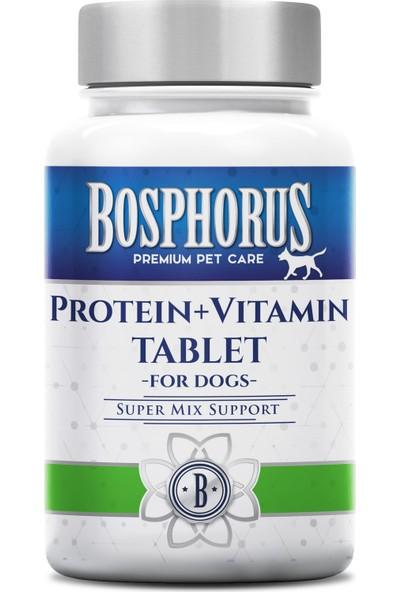 Bosphorus Köpekler İçin Protein + Vitamin Tablet 60 Adet
