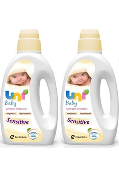 Uni Baby Çamaşır Deterjanı Sensitive 1800 ml x 2 Adet