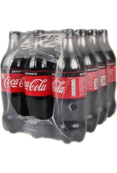Coca-Cola Zero Şekersiz 1 l 12'li