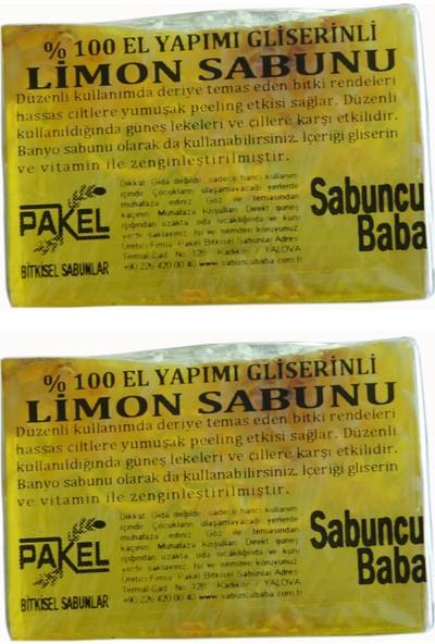 Sabuncu Baba Limon Sabunu 2'li