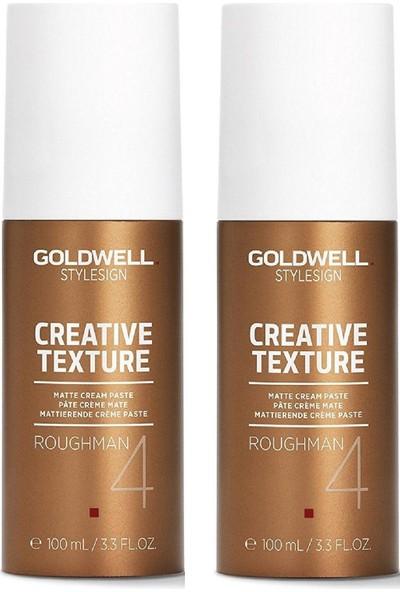Goldwell Roughman Mat Krem Macun 2X 100 ml