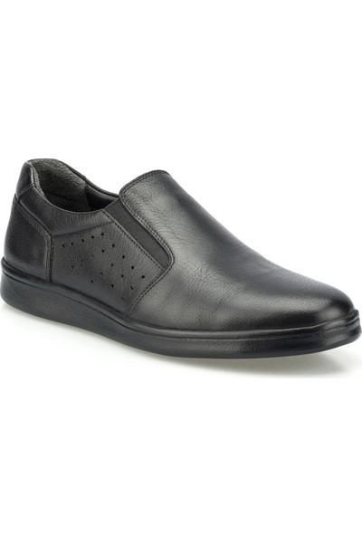 Polaris 5 Nokta 102019.M Siyah Erkek Klasik Ayakkabı