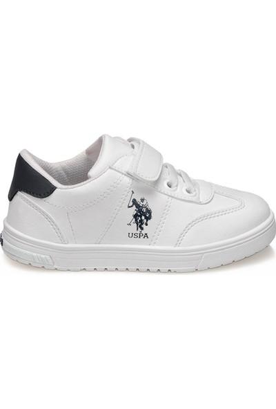 U.S. Polo Assn. Glock Beyaz Erkek Çocuk Sneaker Ayakkabı
