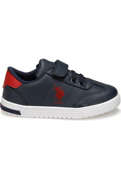 U.S. Polo Assn. Glock Lacivert Erkek Çocuk Sneaker Ayakkabı