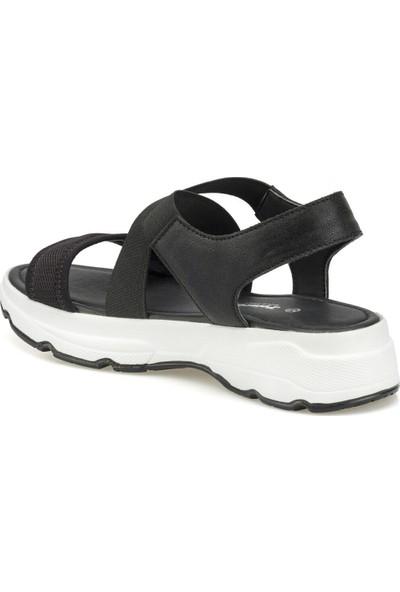 Polaris 315500.Z Siyah Kadın Sandalet