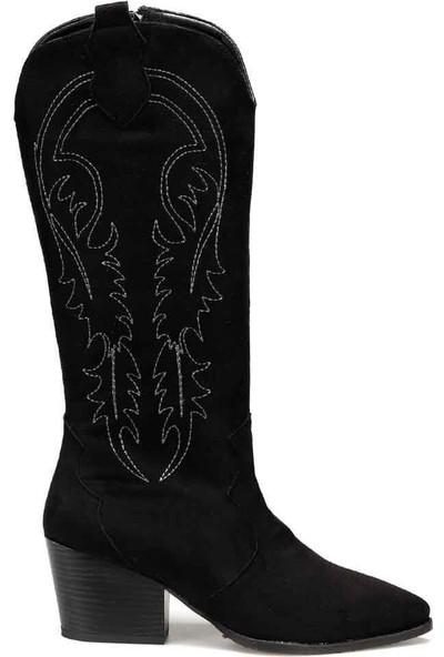 Butigo Valente Siyah Kadın Çizme