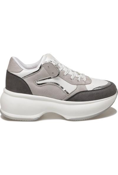 Butigo 19Sf-2061 Gri Kadın Sneaker Ayakkabı