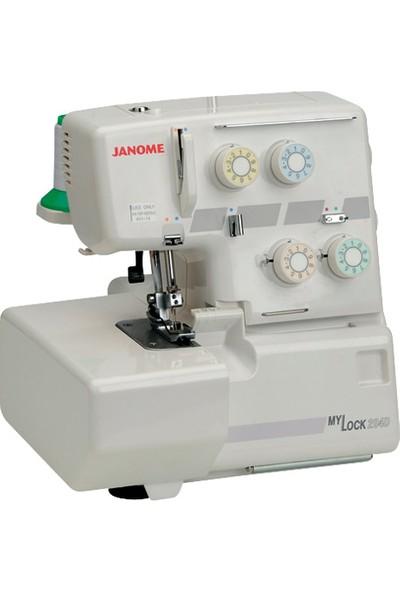 Janome 204D - Ev Tipi 4 İplik Overlok Makinesi