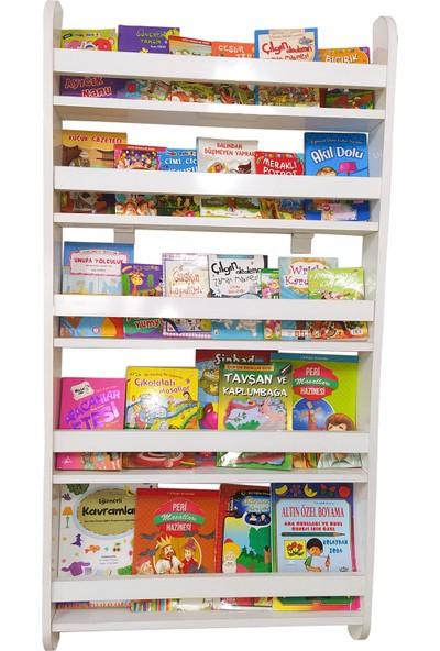 Emdief HomeMontessori 5 Raflı KitaplıkÇocuk Odası Kitaplığı