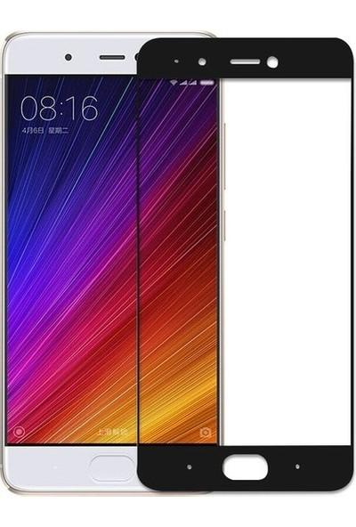 Casestore Xiaomi Mi 5S 5D Fiber Nano Ekran Koruyucu Cam - Siyah