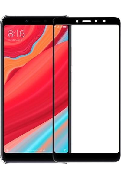 Casestore Xiaomi Redmi S2 5D Tam Kaplayan Cam - Siyah
