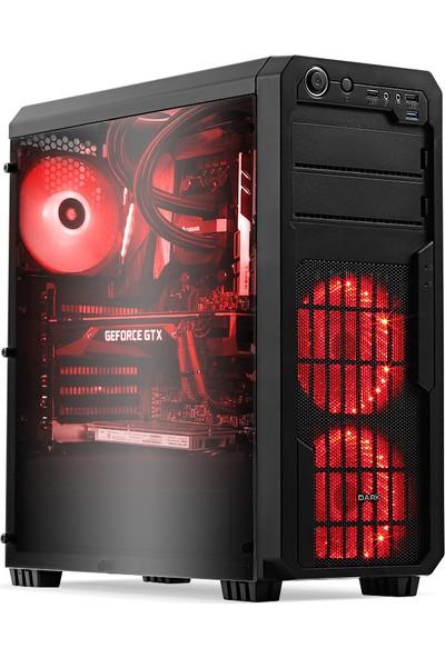 Teknobiyotik HB1600 H AMD Ryzen 5 1600 16GB 480GB SSD RX570 Freedos Masaüstü Bilgisayar