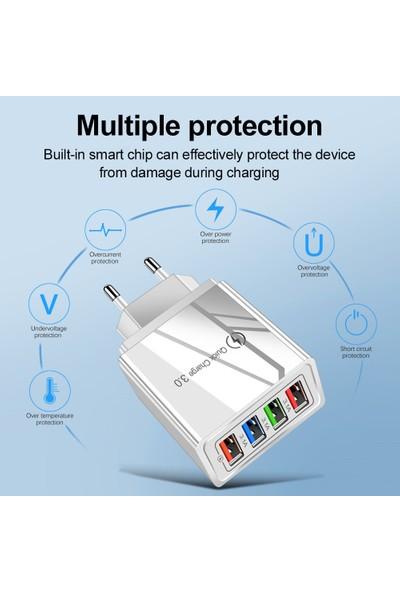 Blackpoint 4 Port USB Hızlı Şarj Cihazı