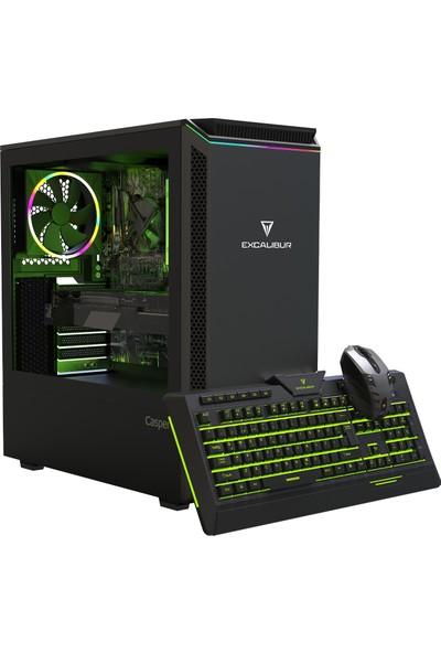Casper Excalibur E60L.940F-B550X-V-F Intel Core i5 9400F 16GB 1TB + 240GB SSD RX570 Freedos Masaüstü Bilgisayar