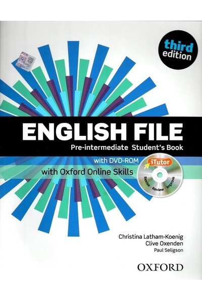 English File: Pre-Intermediate: Student's Book With Oxford And Online Skills