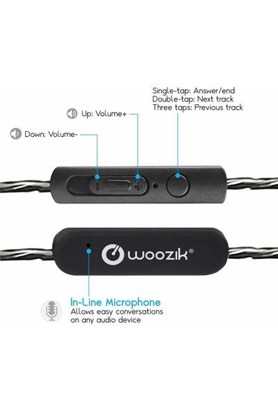 WOOZIK Woosic B900 Metalik Kulakiçi Kulaklık
