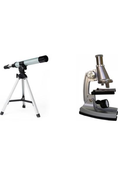 Lizer Teleskop-Mikroskop Seti-30F300 Teleskop seti ve A 450 mikroskop seti