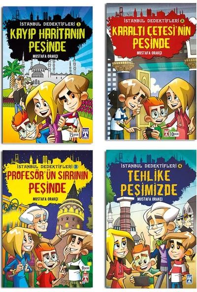 İstanbul Dedektifleri 4 Kitap Hikaye Seti - Mustafa Orakçı