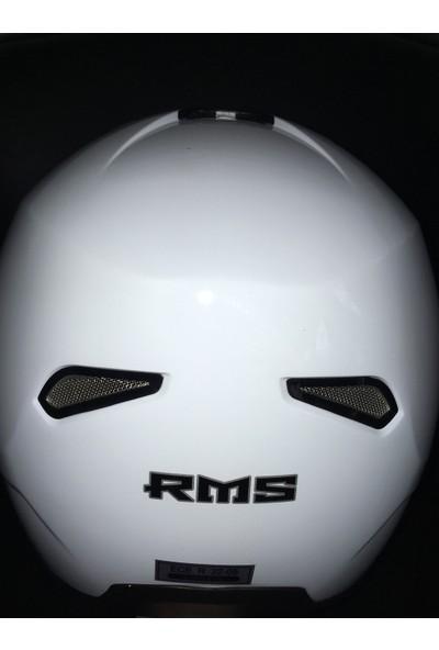 Rms Çene Açılır Kask Beyaz