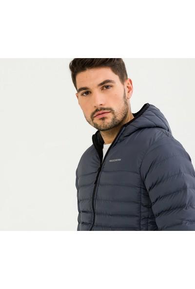 Skechers M Filled Hood Erkek Mont S192056 003
