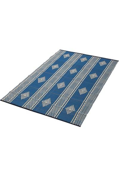 Sermat Piknik Hasırı Çift Taraflı 180 x 200 cm Mavi