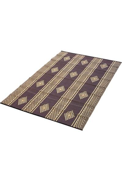 Sermat Piknik Hasırı Çift Taraflı 180 x 200 cm Kahverengi