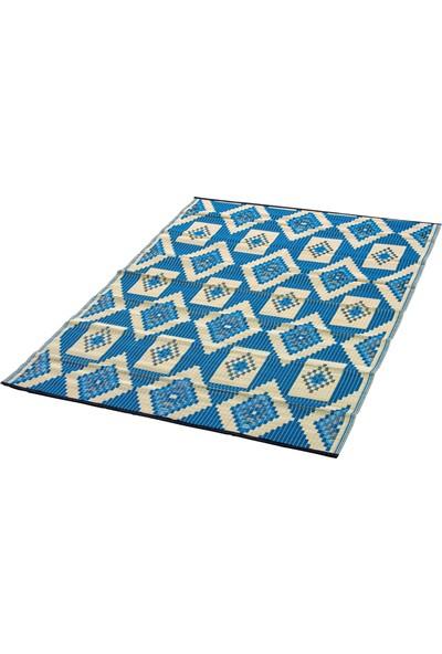 Sermat Piknik Hasırı Çift Taraflı 180 x 230 cm Mavi